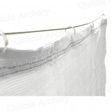 White Backstop Netting 6ft (W) x10ft (H) (2 x 3m) : ZT41