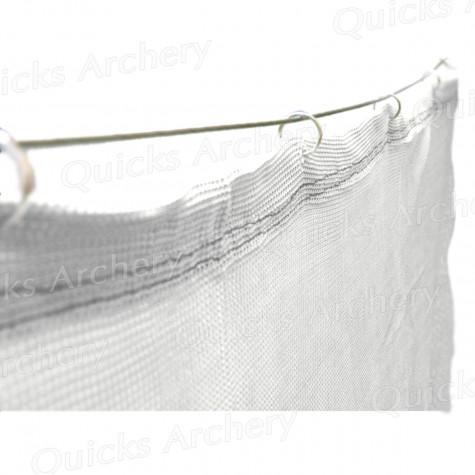 White Backstop Netting 9ft (W) x 10ft (H) (2.8 x 3m) : ZT41Archery Back Stop NettingZT41D