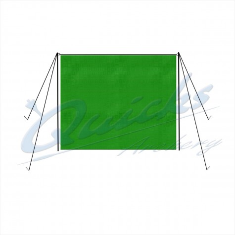 Backstop Net Support Poles & Guys Only - 3.0m (10ft) (per pair) (netting not included) 10-14 DAYS DELIVERY : ZT42Netting PolesZT42