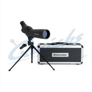 ZZ60 Celestron Angled Spotting Scope with Full Height Tripod