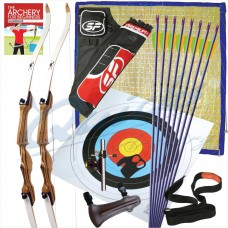 Garden Advanced Archery Set for 2x Adult Archers : GS20