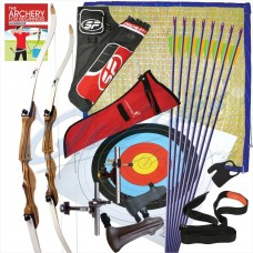 Garden Advanced Archery Set for 1x Adult Archer and 1x Junior Archer : GS22
