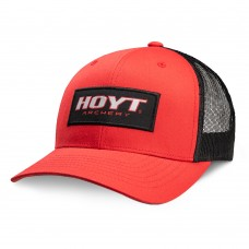 Hoyt 2019 : Range Time Baseball Cap : Red / Black : HC97