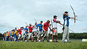 A line of Archers